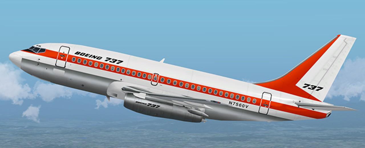 The Boeing 737-200adv released! | FAIB - FSX AI Bureau