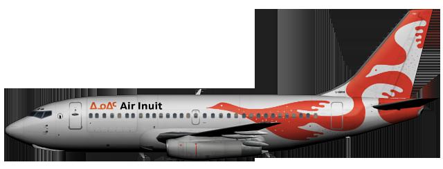 Air Inuit 737-200 | FAIB - FSX AI Bureau