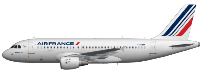 air france a319 faib fsx ai bureau. Black Bedroom Furniture Sets. Home Design Ideas