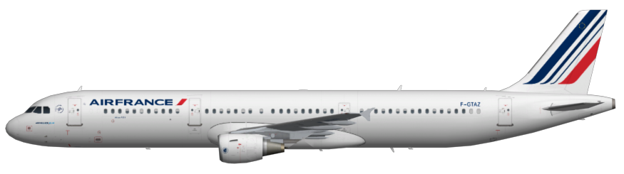 Air France A321 | FAIB - FSX AI Bureau