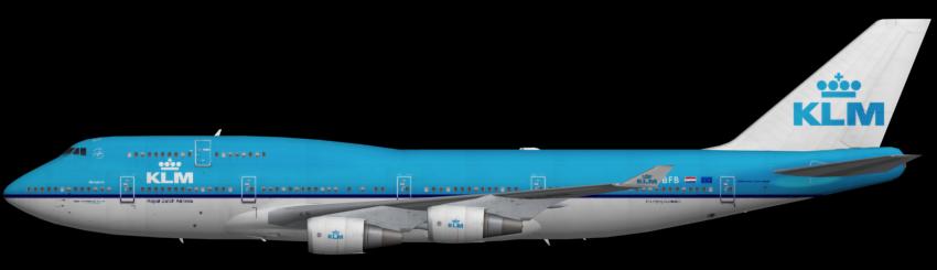 klm 747400 faib fsx ai bureau