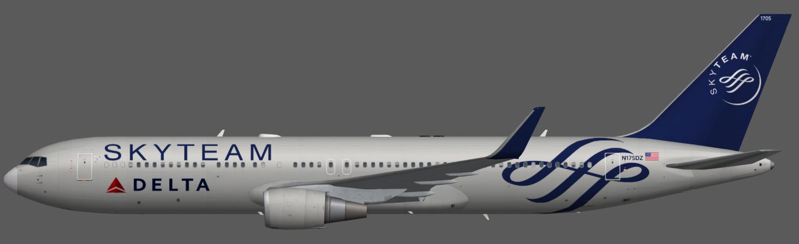 Delta Air Lines 767-300 | FAIB - FSX AI Bureau
