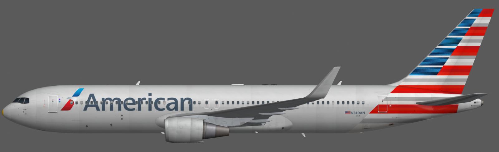 American Airlines 767 300 Faib Fsx Ai Bureau
