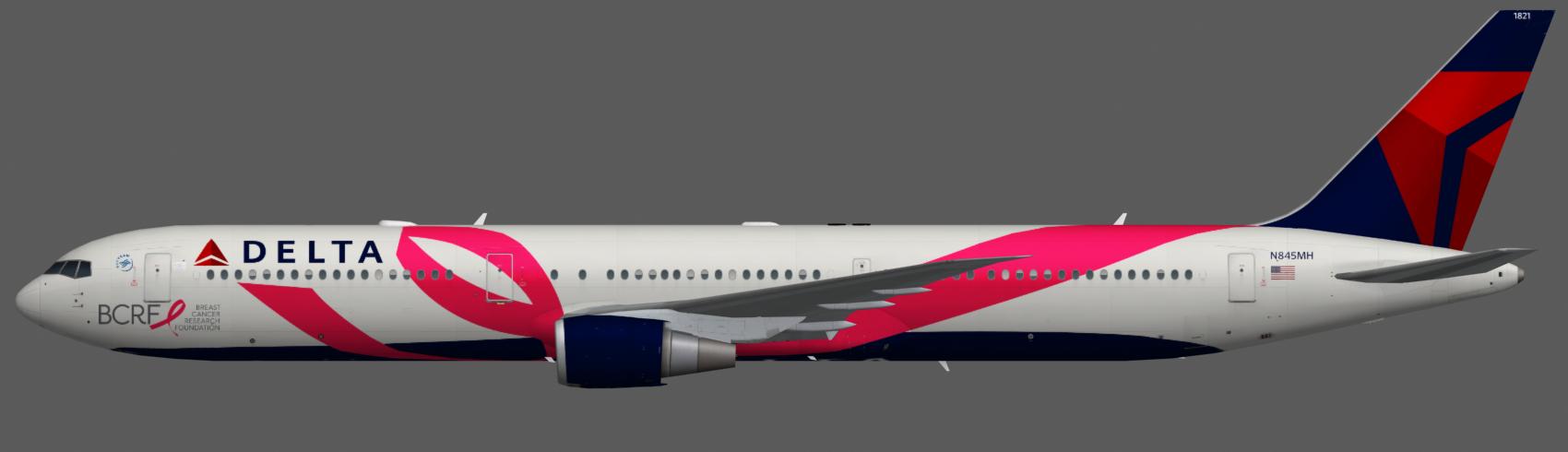Delta Air Lines 767-400 | FAIB - FSX AI Bureau